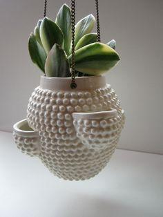 Pinch Pot Planters - McMurray Art Room