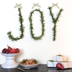 {IRON + TWINE}: Blogger Stylin Home Tours - love this rosemary joy sign!