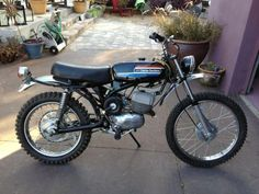 1974 Harley-Davidson Baja 100 Competition Model