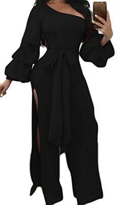 Xswsy XG Womens Summer Ruffle Sleeveless V Neck Rompers Wide Leg Jumpsuits