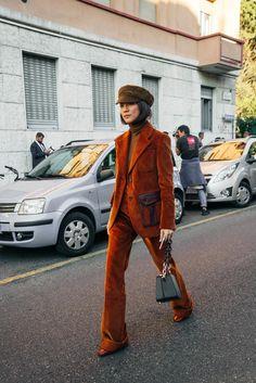 Yoyo Cao - Prada SS18 Streetstyle - Milan Fashion Week - shot by - @stacieyue