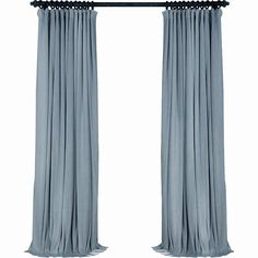Pair of Dusty Blue Velvet Curtains, Bedroom Velvet Curtains, Living Room Velvet Curtains, Custom Curtains Velvet Curtains Bedroom, Blue Velvet Curtains, Beige Curtains, Purple Curtains, Cheap Curtains, Drop Cloth Curtains, Floral Curtains, How To Make Curtains, Custom Curtains