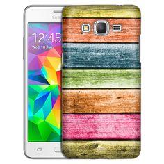 Samsung Grand Prime Antique Colorful Wood Floors Slim Case