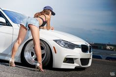 Trucks And Girls, Car Girls, Sexy Cars, Hot Cars, Bmw Girl, Bmw Love, Audi Cars, Biker Girl, Car Pictures