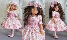 SMOCKED-DRESS-SET-MADE-FOR-EFFNER-LITTLE-DARLING-13-034-MY-MEADOW-AVERY-14-034-DOLL
