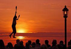 Key West, FL @ sunset
