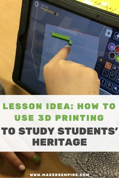 3D printing and design technology can support all areas of learning. See how this 2nd grade teacher used 3D printing to engage her students and learn about each student's unique heritage.
