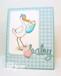 Baby in Blue card-designed by Lori Tecler/Inking Aloud-stamps from SugarPea Designs