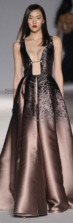 Rosamaria G Frangini | Brown Desire | Aigner Fall-winter 2014-2015