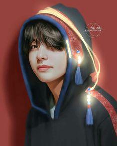 My darling kim taehyung ❤ ❤ ❤ bts boys, bts fan art Jimin, Bts Bangtan Boy, Bts Jungkook, Taehyung Fanart, Kim Taehyung, Namjoon, Daegu, Foto Bts, Boy Band
