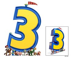 Toy Story 3 Standee. Characters holding up sign. By WDSMP Creative Print Services