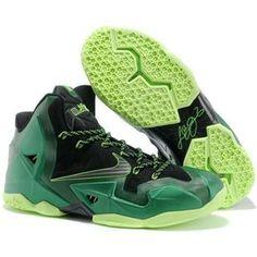 76925c2ab8c http   www.anike4u.com  Top LeBron James XI Men Shoes. Nike LebronLebron  11Lebron JamesGreen Basketball ...