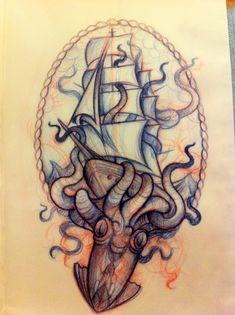 octopus tattoos   Tumblr