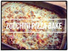 Zucchini Pizza Bake