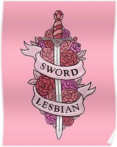 SWORD LESBIAN Poster