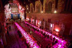 WOW! Lovely pink presentation - via Australian Centre for Event Management SocialTables.com | Event Planning Software