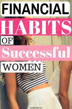 10 of the best financial habits successful people adopt. Such great financial tips! If you are looking to take control of your personal finances, check these short and long term financial goals. Habits Of Successful People, Successful Women, Barefoot Investor, One Income Family, Financial Organization, Financial Goals, Financial Planning, Budgeting Money, Debt Free
