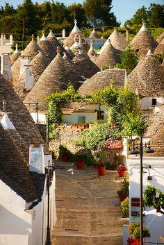 Alberobello ~ small town and province of Bari, Puglia - Italy
