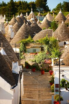 Alberobello ~ small town and province of Bari, Puglia - Italy