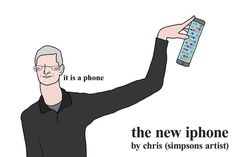 Really good things about the new iphone 6 by chris (simpsons artist)