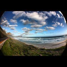 Scarborough Beach, Cape Town     (Dale Steyn Instagram Image)