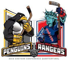 2016 East Qtrs. @NHL @NHLonNBCSports #StanleyCupPlayoffs #StanleyCup #PITvsNYR #EPoole88