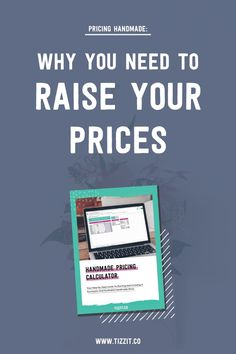 Pricing handmade products is far from being easy and enjoyable, but it's a really important aspect of running a successful and profitable handmade business. If you're wondering if your pricing strategy is just right or if you should raise your prices, this article should help you.