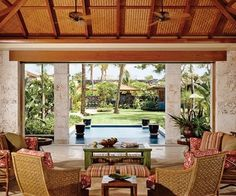 architectur digest, interior design, idea, hawaiiana style, architectural digest