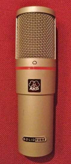 AKG Solid Tube.  Cardioid Vacuum Tube Condenser.  Sounds great on guitars, vocals and piano.  Especially good when used in Mid-Side configuration with our TF Pro SP.