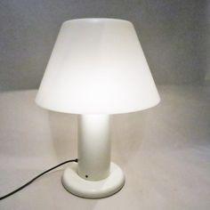 Large Guzzini lamp in metacrylat circa 1970