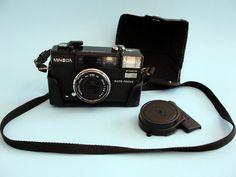 SALE #Minolta 35 mm Film SLR #Camera 1980's Hi Matic AF2 Auto Focus Instructions Man's Gift