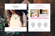 Wedding Photography Price List -V359 by Template Shop on @creativemarket