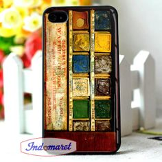 pallet Watercolor set painting  iPhone 4/4s iPhone by Indomaret, $10.00