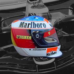 MICHAEL SCHUMACHER 1996 F1 REPLICA HELMET