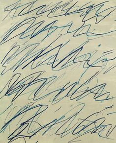 Cy Twombly. Roman Notes I, 1970.
