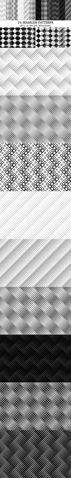 24 Seamless Square Patterns #BackgroundSets #PremiumBackground #pattern #BackgroundGraphics #BackgroundSet #SeamlessPatterns #BackgroundCollections #DiscountPattern #monochromepattern #GeometricGraphics #PatternCollection #BackgroundGraphic #CheapVectorGraphics #PatternBundles #PatternCollections #pattern #PatternDesign #geometry #BackgroundSets
