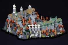 soccersnyderi's version of Rivendell is pretty incredible. The model took a few weeks to complete which is amazing considering the amount of detail in the Lord of the Rings MOC.