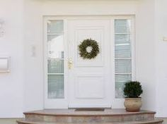 Haustür holz weiß  Bildergebnis für haustüren 3 teilig | Hauseingang | Pinterest ...