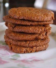 Suikervrije en tarwevrije Bastogne koeken van rijstmeel