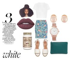 """""""During the day"""" by escod on Polyvore featuring New Look, Oliveve, Larsson & Jennings, Kenneth Jay Lane and Lime Crime"""