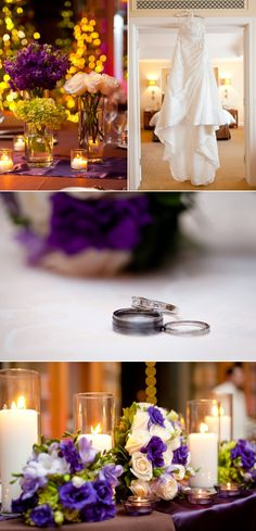 The Peninsula Chicago Wedding by Heather Parker Photography | Style Me Pretty