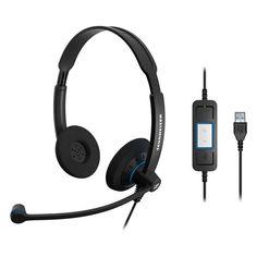 Sennheiser SC 60 USB Ctrl Headset, #504549