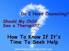 Do I need a therapist? 6 Questions To Ask Counseling, Play Therapy Kingwood, TX www.kimscounseling.com