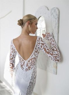 Romantic and Sexy Riki Dalal Valencia Wedding Dresses | http://www.deerpearlflowers.com/romantic-and-sexy-riki-dalal-valencia-wedding-dresses/