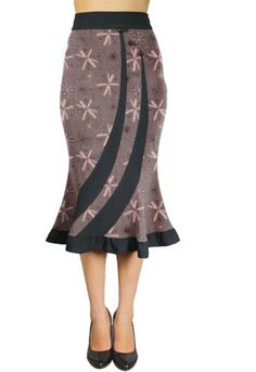 Fitted  Flared Retro Skirt by Amber Middaugh -Save 37% at Chicstar.com Coupon: AMBER37