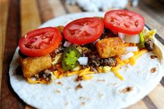 SuperSonic Breakfast Burrito:  For those of you who didn't raise your hand, excuse me while I observe a moment of silence for you. For you are missing out on one of life's great…greatnesses.