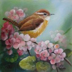 An Original Fine Art Gallery by Daily Paintworks Bird Painting Acrylic, Watercolor Bird, Painting & Drawing, Pretty Birds, Beautiful Birds, Bird Pictures, Animal Tattoos, Fine Art Gallery, Bird Prints