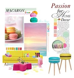 """""""Passion for Home Decor"""" by ledianaaaaa ❤ liked on Polyvore featuring interior, interiors, interior design, home, home decor, interior decorating, Kartell, Isharya, Joybird Furniture and Paul Frank"""