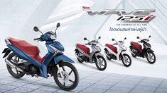 ตรวจสอบราคา Honda Wave125i 2020 รถมอเตอร์ไซค์ครอบครัวยอดนิยม Honda Wave, All About Time, Motorcycle, Vehicles, Biking, Motorcycles, Motorbikes, Engine, Vehicle
