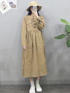 Check Out These Top korean fashion ideas 9649 Korean Fashion Trends, Korea Fashion, Vogue Fashion, Asian Fashion, Trendy Fashion, Boho Fashion, Vintage Fashion, Fashion Design, Japanese Fashion